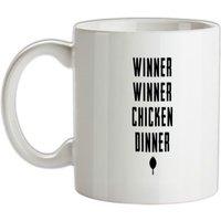 Winner Winner Chicken Dinner TXT mug.