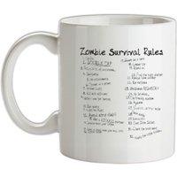 List of Zombie Rules mug.