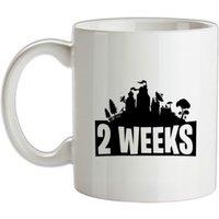 2 weeks mug.