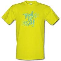 Treat Yo Self male t-shirt.