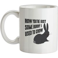 Now You're Just Some Bunny I Used To Know mug.