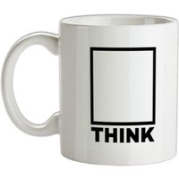 Think Outside The Box mug.