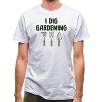 I Dig Gardening classic fit.