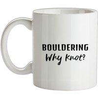 Bouldering Why Knot? mug.