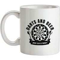 Darts & Beer mug.