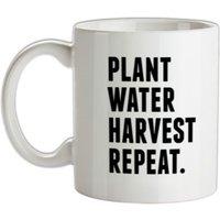 Plant Water Harvest Repeat. mug.