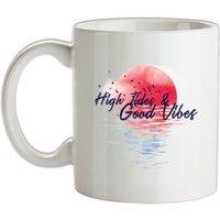 High Tides & Good Vibes mug.