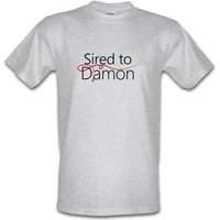 Sired To Damon male t-shirt.