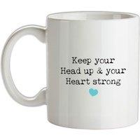 Keep Your Head Up mug.