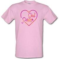 Girl Power male t-shirt.