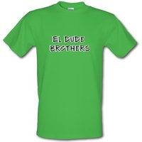 El Dude Brothers male t-shirt.