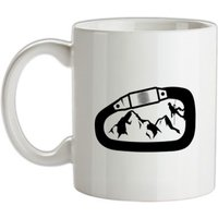 Carabiner Climbing mug.