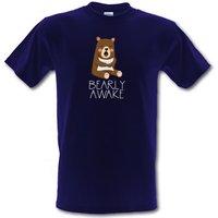 Bearly Awake male t-shirt.