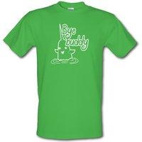 Bye Buddy male t-shirt.