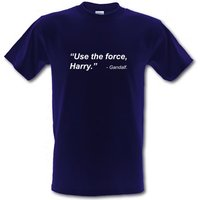 Use The Force Harry male t-shirt.