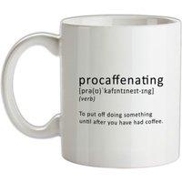 Procaffenating mug.