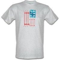 United Skates Of America male t-shirt.