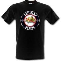 Anti Camping Gaming Male T-shirt.