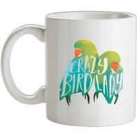 Crazy Bird Lady mug.