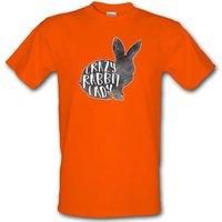 Crazy Rabbit Lady male t-shirt.