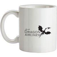Dragon Airlines mug.