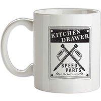 Kitchen Drawer Speed Parts mug.