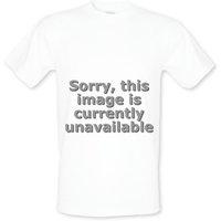 Warning Escalators male t-shirt.