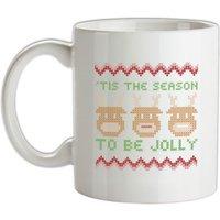 'Tis The Season To Be Jolly mug.
