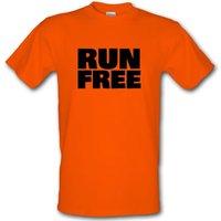 Run Free male t-shirt.
