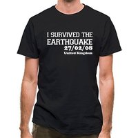 I Survived The Earthquake - 27/02/08 UK classic fit.