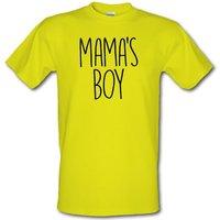 Mamas Boy male t-shirt.