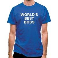 World´s Best Boss classic fit.