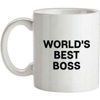 World´s Best Boss mug.