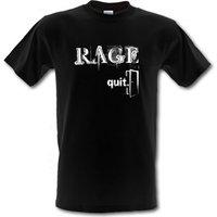Rage Quit male t-shirt.