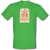 Berlin Luggage Tag male t-shirt.