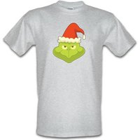Grinch Face male t-shirt.