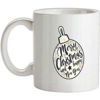 Merry Christmas Bauble mug.