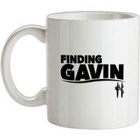 Finding Gavin mug.
