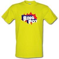 Bing Pot male t-shirt.