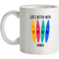 Life's Better With Kayaks mug.