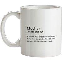 Mother Definition mug.