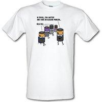 AA Meeting male t-shirt.