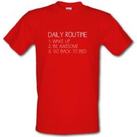 Daily Routine male t-shirt.