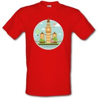 London Montage male t-shirt.