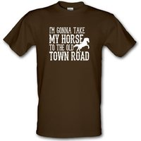 Old Town Road male t-shirt.