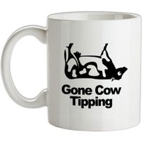 Gone Cow Tipping mug.