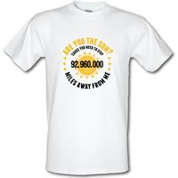 Are You The Sun? male t-shirt.