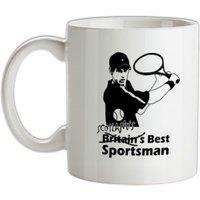 Andy Murray - Scotlands Best Sportsman mug.