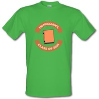 Homeschool class of 2O21 male t-shirt.