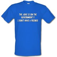 6 Friends male t-shirt.